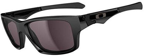 Oakley Jupiter Squared Sunglasses Polished Black OO9135 01 56 Warm Grey