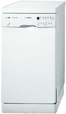 bosch srs46t12eu lave vaisselle pose libre 45 cm nombre de couverts 9 47 db classe a blanc. Black Bedroom Furniture Sets. Home Design Ideas