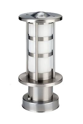 IVT 330002 stilvolle Außen-Sockelleuchte (Höhe 30 cm 230V/50 Hz max.40 W, ohne Leuchtmittel) von IVT Innovative Versorgungstechnik GmbH - Lampenhans.de