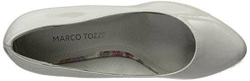 Marco Tozzi 22440, Sandales compensée femme Gris (Grey 200)