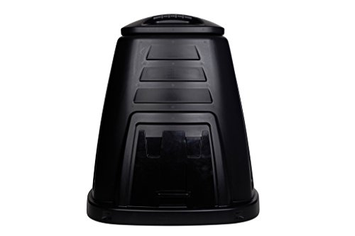 Whitefurze 220L Compost Bin - Black