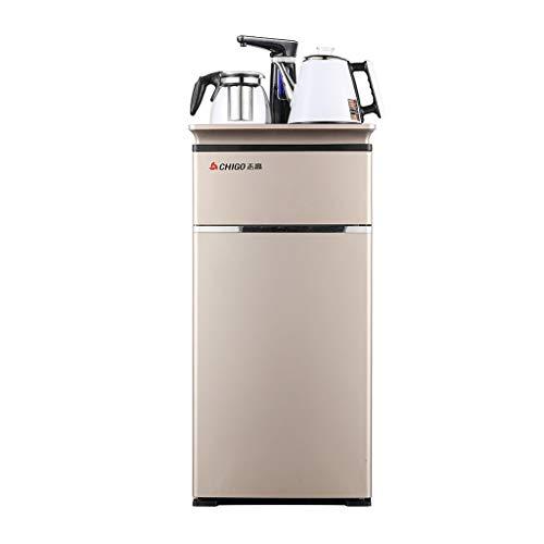 Wasserspender Bottom Load Heiß und Kalt Mit 2 Wasserkrugspendern, Instant-Heißwasserspender und automatischem Wasserhahn (Farbe : Gold, größe : Warm and hot water) - Hot Filter Wasserspender