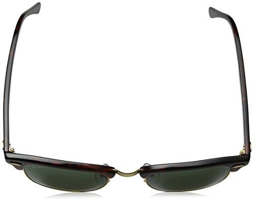 Ray-Ban - Aviator, Occhiali da sole da donna Multicolore (Gestell: Schildkröte, Gläser: Polarized Grün Klassisch 990/58)