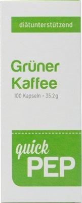 Quickpep Grüner Kaffee Kapseln 100 stk