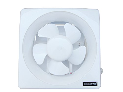 Alastor Ventilair Exhaust Fan with Copper Winding (White) - 10 Inch