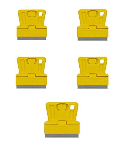 Single Edge Mini Rasierer Klinge mit Kunststoff Halter Mini Schaber Fenster Schaber X5