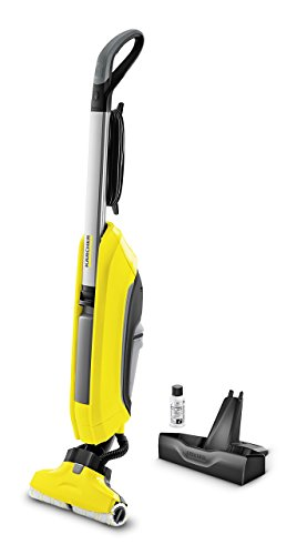 Kärcher fc5hard floor cleaner sweeper mop 2serbatoio sistema giallo