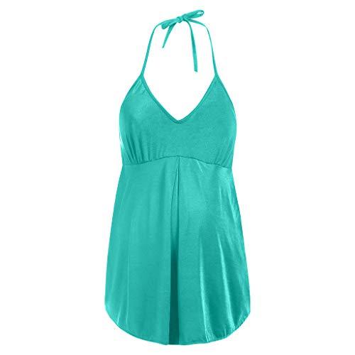 30c876228558 UFACE Estate Nuove Signore Donne Incinte Costumi di Colore Solido Fionda  Costumi da Bagno Sportivo Dimagrante