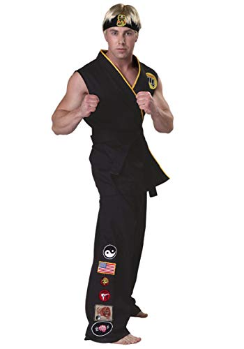 Cobra Kinder Kai Kostüm - Authentic Karate Kid Cobra Kai Fancy dress costume Medium