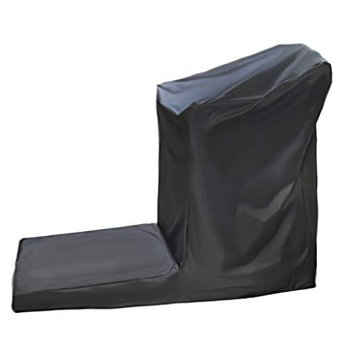 Jcy Cubierta De Cinta De Correr Al Aire Libre, Cubierta Impermeable, Cubierta De Polvo, Exterior, Interior Están Disponibles (Color : Black, Size : 165x76x140cm)