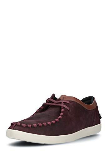 Boxfresh Herren Mokassins Schuhe Slipper echt Leder leicht Loafers - Leder-leichte Loafer