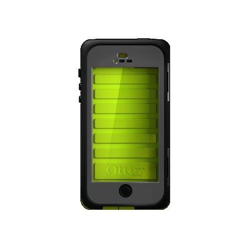 OtterBox Sound Around Armor Serie wasserdichte Schutzhülle für iPhone 5, grün, Einheitsgröße Otterbox Armor Serie