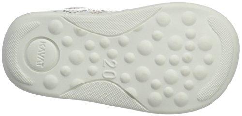 Kavat Edsbro Xc White Print, Chaussures Marche Bébé Fille Mehrfarbig (White Print)