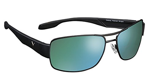 Callaway sungear Eagle Golf Sonnenbrille, Unisex, C80001, Gray Lens and Green Mirror, No Size