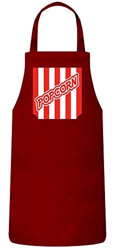 ShirtStreet lustige Karneval Gruppen Paar Verkleidung Frauen Herren Barbecue Baumwoll Grillschürze Kochschürze Fasching - Popcorn Kostüm, Größe: - Wirklich Lustige Kostüm