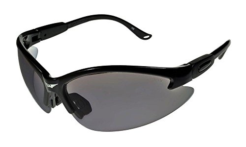 Global Vision Cougar 24 Half Frame Sunglasses Black/Photochromic ML