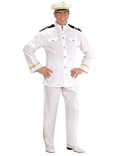 Horror-Shop Marine Kapitän Kostüm S (Frau Kostüm Offizier)