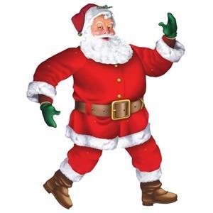 Klassische Santa Jointed Cutout (Kostüme Klassische Santa Für Erwachsene Anzug)