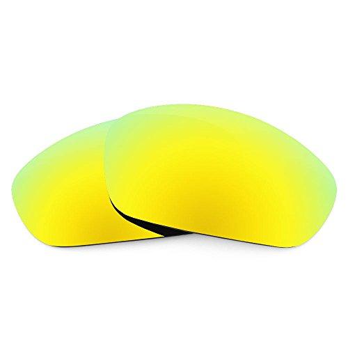 sunglasses restorer Kompatibel Ersatzgläser für Oakley Fives 3.0 (Polarized Gold 24K Linsen)