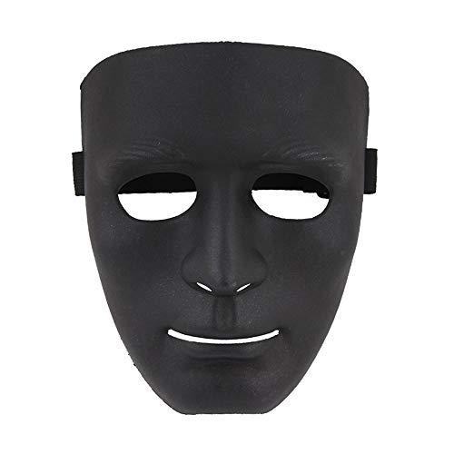 LZRDZSW Halloween Maske - Hip-Hop - Maske - Tänzerin - Grimace - Mehrfarbig Cosplay Kostüm Party (Hip Hop Tänzerin Kostüm Halloween)