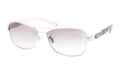 COACH Sonnenbrille HC 7012 910211 Silberfarbig/Schwarz 56MM