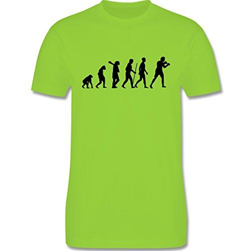 Evolution - Boxer Evolution - Herren Premium T-Shirt Hellgrün