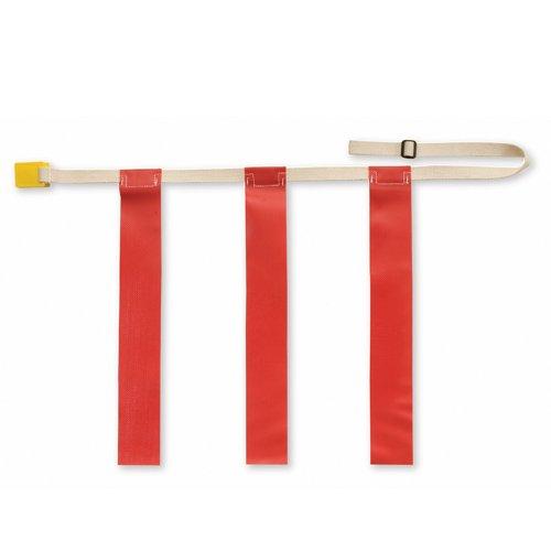 ootball Gürtel, Rot, X-Large (je) (Flag Football Gürtel)