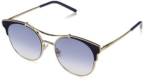 Jimmy Choo Damen LUE/S VM LKS 59 Sonnenbrille, Gold Blue