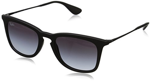 Ray Ban Unisex Sonnenbrille RB4221 Gestell: schwarz,Gläser: grau verlauf 622/8G), Medium (Herstellergröße: 50)