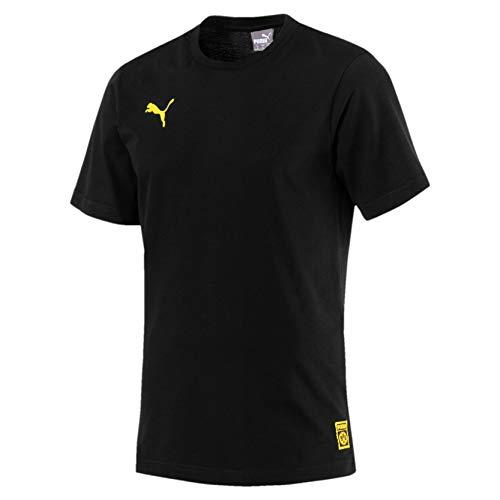 PUMA BVB Herren Premium Stencil T-Shirt Puma Black 3XL