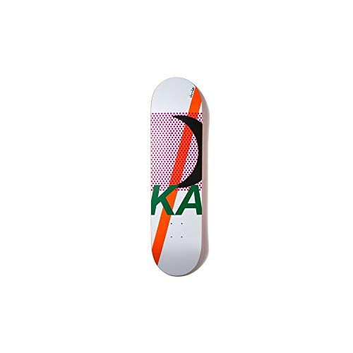 Chocolate Skateboard-Deck Anderson Phase - 8.125 Inch Weiß-Grun (One Size, Weiß) (Decks Skateboard Chocolate)