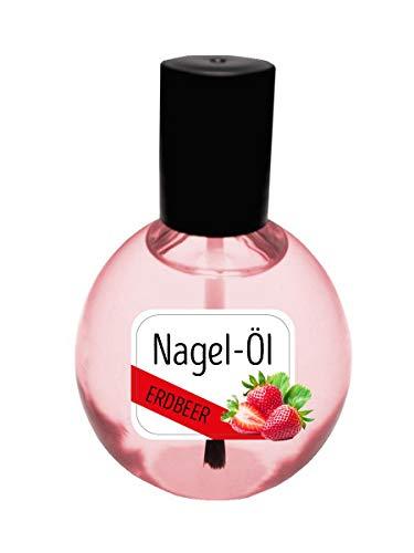 KM-Nails Nagelöl Erdbeere 80ml XXL Sondergröße Paraffin frei