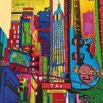 La Kelnet Microfasertuch City Life 1 - 7 AV Broadway