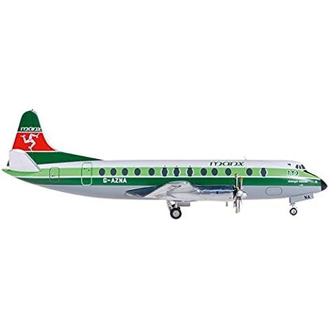 Herpa - 556.866 - Isla de Man Aerolíneas Vickers Viscount 800
