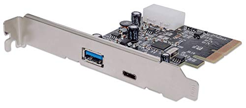 Price comparison product image Manhattan SuperSpeed+ USB-C 3.1 PCI Express Card,  Two external SuperSpeed+ USB 3.1 ports