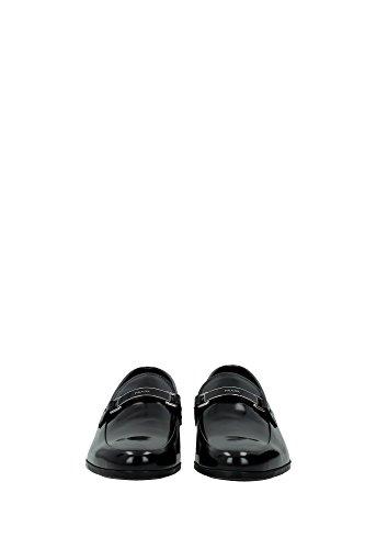 2DE080NERO Prada Mocassins Homme Cuir Noir Noir