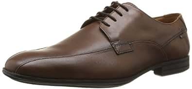 Clarks Derry Over GTX 203590317, Herren Schnürhalbschuhe, Braun (Walnut Leather), EU 40
