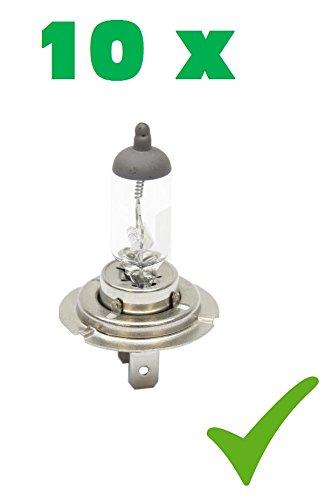 Preisvergleich Produktbild PRAKTISCHES 10er SET! (Grundpreis: 2,35 EUR/Stk) 10 x H7 24V 70W PX26d Glühlampe Glühbirne Halogen-Scheinwerfer-Lampe Halogen-Lampe Auto-Lampe