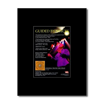 GUIDED BY VOICES - Universal Truths and Cycles Matted Mini Poster - 13.5x10cm