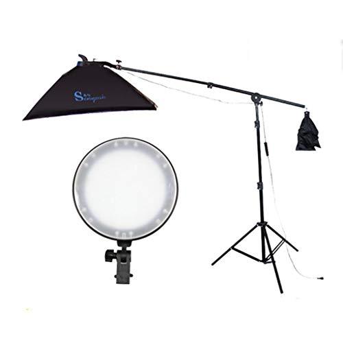 Attrezzatura fotografica Creative Light Creativa LED Lampada di Ceramica Seduto 70-200cm Staffa Morbida Box Clothing ripresa Lamp Studio