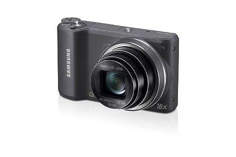 Samsung WB250F Smart-Digitalkamera (14,2 Megapixel, 18-fach opt. Zoom, 7,6 cm (3 Zoll) LCD-Display, bildstabilisiert, Full HD Video, WiFi) grau