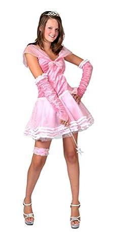 ,Karneval Klamotten' Kostüm Prinzessin Dame rosa kurz Kostüm Karneval Märchen Damenkostüm Größe 32/34