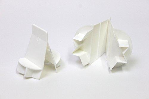 Zimtstern-Ausstecher aus Kunststoff 5 cm, klappbar