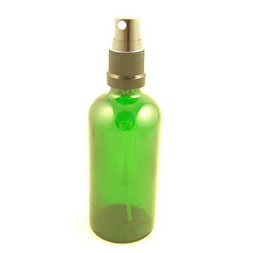 Glasflasche Grün Durham Mit plastik Mist Zerstäuber / Atomizer Kappe 100ml (1 Flaschen-) -