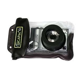 Unterwasser-Gehäuse (WP-100/110) für Digitalkameras 95 x 145 mm, mit Linse aus kratzfestem Polycarbonat und ausreichend Platz für das ausfahrende Kamera-Objektiv
