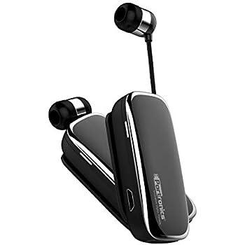 bc86a03d788 Portronics POR-205 Harmonics Klip III a Clip-On Retractable Bluetooth  Headset with Mic for Hands-Free Calling, Clear Conversation, Convenient  Controls ...