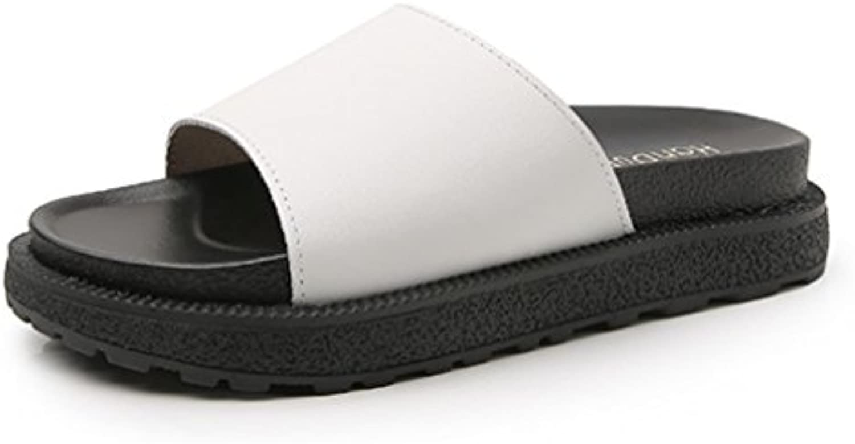 HN scarpe Donna Slider Mules Mules Mules pantofola sandali Le signore Piatto Scarpe sfocato Soffice comodo Aperto Dito del... | Garanzia di qualità e quantità  439849