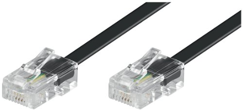 Wentronic ISDN Modular-Kabel (2x RJ45 Stecker, 4-polig, belegt) 6m