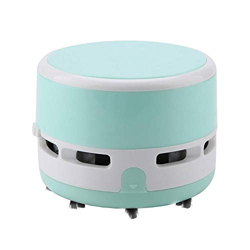 3 Colores Lindos inalámbricos Mini Escritorio Teclado Esquina Polvo aspiradora barredora