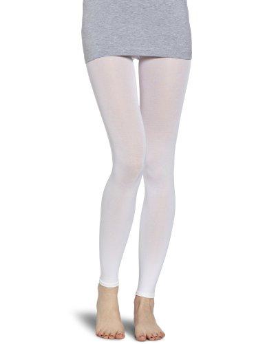 ESPRIT Damen Kniestrümpfe  18433 Cotton Legging, Gr. 44/46, Weiß (white 2000)